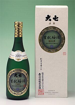 大七酒造 『生もと梅酒〈極上品〉』