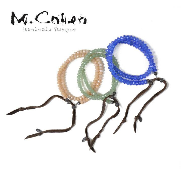 M COHEN エムコーエン B922S ストーン2連ブレスレット 【marquee】