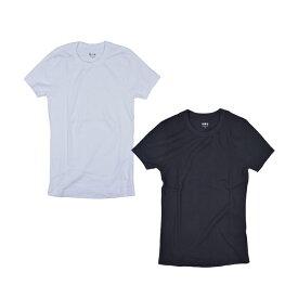 Three Dots スリードッツ /KNIT CREW TEE AA1C032 カットソー Tシャツ クルーネック【marquee】