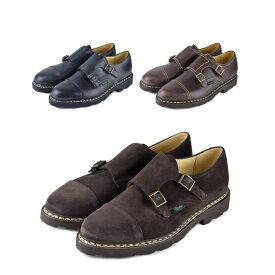 PARABOOT パラブーツ WILLIAM Shoes ウィリアム ダブルモンクレザーシューズ メンズ 革靴【marquee】
