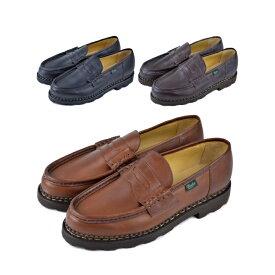 【★100円クーポン!無くなり次第終了!】PARABOOTS パラブーツ REIMS Shoes ランス レザーシューズ メンズ 革靴【marquee】