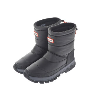 HUNTER ハンター ORG INSULATED SNOW BOOTS WFS2066WWU レインブーツ スノーブーツ 防滑 断熱 ブラック レディースシューズ【marquee】