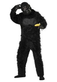 キッズ デラックス Gorilla コスチューム ハロウィン 子ども コスプレ 衣装 仮装 こども イベント 子ども パーティ ハロウィーン 学芸会 学園祭 学芸会 ショー お遊戯会 二次会 忘年会 新年会 歓迎会 送迎会 出し物 余興 誕生日 発表会 バレンタイン ホワイトデー