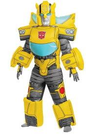 Transformers キッズ Bumblebee Inflatable コスチューム ハロウィン 子ども コスプレ 衣装 仮装 こども イベント 子ども パーティ ハロウィーン 学芸会
