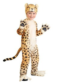 幼児 Cheerful Cheetah Suit ハロウィン 子ども コスプレ 衣装 仮装 こども イベント 子ども パーティ ハロウィーン 学芸会 学園祭 学芸会 ショー お遊戯会 二次会 忘年会 新年会 歓迎会 送迎会 出し物 余興 誕生日 発表会 バレンタイン ホワイトデー