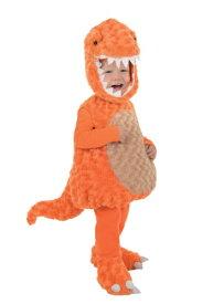 幼児 Orange T-Rex コスチューム ハロウィン 子ども コスプレ 衣装 仮装 こども イベント 子ども パーティ ハロウィーン 学芸会 学園祭 学芸会 ショー お遊戯会 二次会 忘年会 新年会 歓迎会 送迎会 出し物 余興 誕生日 発表会 バレンタイン ホワイトデー
