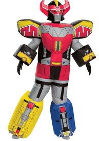 Power Rangers キッズ Megazord Inflatable コスチューム ハロウィン 子ども コスプレ 衣装 仮装 こども イベント 子ども パーティ ハロウィーン 学芸会