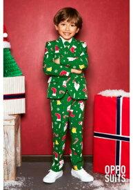 Boy's Santa Boss OppoSuit ハロウィン 子ども コスプレ 衣装 仮装 こども イベント 子ども パーティ ハロウィーン 学芸会 学園祭 学芸会 ショー お遊戯会 二次会 忘年会 新年会 歓迎会 送迎会 出し物 余興 誕生日 発表会 バレンタイン ホワイトデー