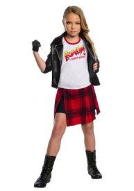 WWE Rowdy Ronda Rousey デラックス コスチューム ハロウィン 子ども コスプレ 衣装 仮装 こども イベント 子ども パーティ ハロウィーン 学芸会 学園祭 学芸会 ショー お遊戯会 二次会 忘年会 新年会 歓迎会 送迎会 出し物 余興 誕生日 発表会 バレンタイン ホワイトデー