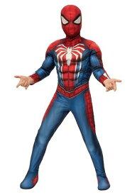 チャイルド スパイダーマン Gamer Verse デラックス コスチューム ハロウィン 子ども コスプレ 衣装 仮装 こども イベント 子ども パーティ ハロウィーン 学芸会