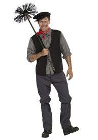 Chimney Sweep Men's コスチューム ハロウィン メンズ コスプレ 衣装 男性 仮装 男性用 イベント パーティ ハロウィーン 学芸会