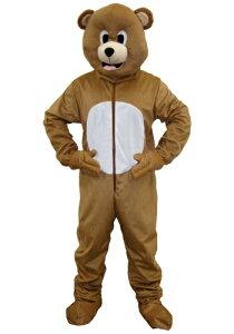 ≪9日20:00〜 20%OFFクーポン有≫Brown Bear Mascot コスチューム ハロウィン メンズ コスプレ 衣装 男性 仮装 男性用 イベント パーティ ハロウィーン 学芸会