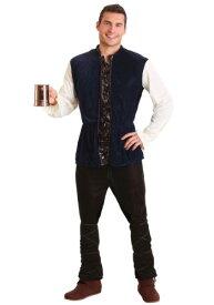 大きいサイズ Medieval Tavern Man コスチューム ハロウィン メンズ コスプレ 衣装 男性 仮装 男性用 イベント パーティ ハロウィーン 学芸会