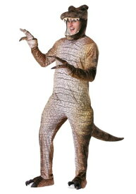 Men's 大人用 Prehistoric T-Rex 恐竜 コスチューム ハロウィン メンズ コスプレ 衣装 男性 仮装 男性用 イベント パーティ ハロウィーン 学芸会