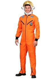 《全品P5倍 クーポン多数有》Orange 宇宙飛行士 Jumpsuit 大人用 大きいサイズ コスチューム ハロウィン メンズ コスプレ 衣装 男性 仮装 男性用 イベント パーティ ハロウィーン 学芸会