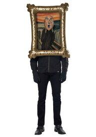 Adults The Screamer コスチューム ハロウィン メンズ コスプレ 衣装 男性 仮装 男性用 イベント パーティ ハロウィーン 学芸会
