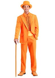《全品P5倍 クーポン多数有》Orange Tuxedo 大きいサイズ コスチューム ハロウィン メンズ コスプレ 衣装 男性 仮装 男性用 イベント パーティ ハロウィーン 学芸会
