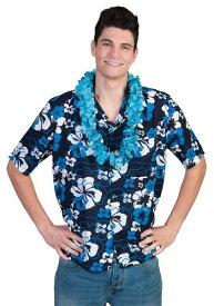 Hawaiian Hibiscus Shirt for Men ハロウィン メンズ コスプレ 衣装 男性 仮装 男性用 イベント パーティ ハロウィーン 学芸会