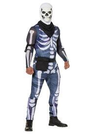 Fortnite Men's Skull Trooper コスチューム ハロウィン メンズ コスプレ 衣装 男性 仮装 男性用 イベント パーティ ハロウィーン 学芸会