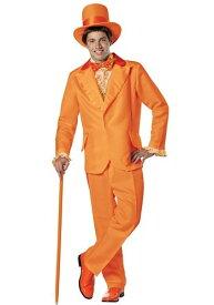 《全品P5倍 クーポン多数有》Orange Dumb and Dumber Lloyd コスチューム ハロウィン メンズ コスプレ 衣装 男性 仮装 男性用 イベント パーティ ハロウィーン 学芸会