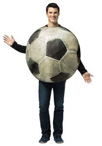 ≪9日20:00〜 20%OFFクーポン有≫大人用 Get Real Soccer コスチューム ハロウィン メンズ コスプレ 衣装 男性 仮装 男性用 イベント パーティ ハロウィーン 学芸会