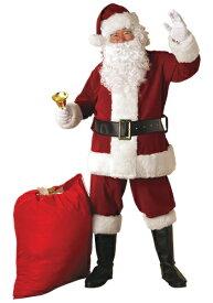 大きいサイズ Regal Santa Suit コスチューム ハロウィン メンズ コスプレ 衣装 男性 仮装 男性用 イベント パーティ ハロウィーン 学芸会