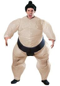 【お得クーポン多数 最大1,000円OFF有】Mens Inflatable Sumo コスチューム ハロウィン メンズ コスプレ 衣装 男性 仮装 男性用 イベント パーティ ハロウィーン 学芸会
