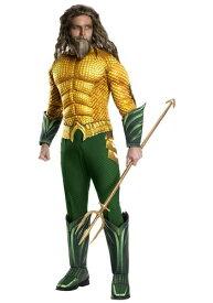 Aquaman 大人用 コスチューム ハロウィン メンズ コスプレ 衣装 男性 仮装 男性用 イベント パーティ ハロウィーン 学芸会
