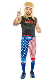 Murica Men's コスチューム ハロウィン メンズ コスプレ 衣装 男性 仮装 男性用 イベント パーティ ハロウィーン 学芸会