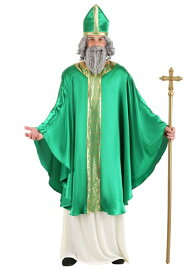 Saint Patrick コスチューム for Men ハロウィン メンズ コスプレ 衣装 男性 仮装 男性用 イベント パーティ ハロウィーン 学芸会