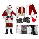 サンタ コスプレ 豪華 10点セット 大きいサイズ S M L サイズ | メンズ レディース ロング サンタクロース 帽子 ひげ …