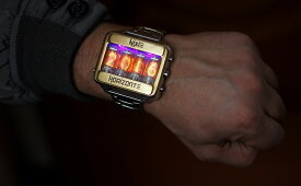 ニキシー管 レトロ ステンレス 腕時計   ニキシー 管 時計 ウォッチ led 自作 ハンドメイド オーダーメイド USB キット 電波 インテリア 小型 アンプ 電気 シュタインズゲート 照明 ソケット チューブ ストラップ バッテリー ガラス