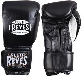 【送料無料】REYES レイジェス メキシコ製 レザー ボクシング グローブ ブラック 3サイズ   ボクシンググローブ 黒 本革 12オンス 14オンス 18オンス 格闘技 公式 メキシコ 製 公式戦 Cleto Reyes メンズ レディース 軽量 パンチ 衝撃 吸収 プロ アマチュア MMA 総合格闘技