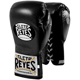 【ワンダフル 全品P10倍】REYES レイジェス ボクシング グローブ ブラック 黒 ボクシンググローブ メキシコ製 本革 オンス 8オンス 10オンス