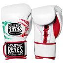 REYES レイジェス ボクシング グローブ ホワイト 白 ボクシンググローブ メキシコ製 本革 オンス 6オンス 10オンス