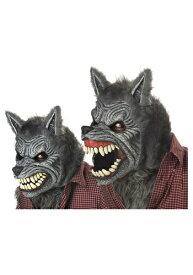 Grey Werewolf Ani-Motion マスク クリスマス ハロウィン コスプレ 衣装 仮装 小道具 おもしろい イベント パーティ ハロウィーン 学芸会 学園祭 学芸会 ショー お遊戯会 二次会 忘年会 新年会 歓迎会 送迎会 出し物 余興 誕生日 発表会 バレンタイン ホワイトデー