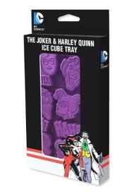 The ジョーカー and Harley Quinn Ice Cube Tray クリスマス ハロウィン コスプレ 衣装 仮装 小道具 おもしろい イベント パーティ ハロウィーン 学芸会