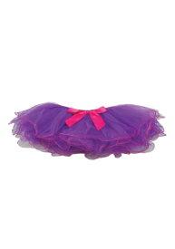 Child's Purple and Fuchsia Two Tone Tutu クリスマス ハロウィン コスプレ 衣装 仮装 小道具 おもしろい イベント パーティ ハロウィーン 学芸会