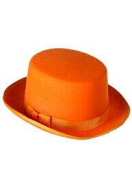 《全品P5倍 クーポン多数有》Orange Tuxedo Top 帽子 ハット ハロウィン コスプレ 衣装 仮装 小道具 おもしろい イベント パーティ ハロウィーン 学芸会