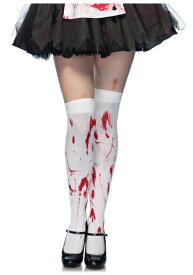 Bloody Thigh High Stockings ハロウィン コスプレ 衣装 仮装 小道具 おもしろい イベント パーティ ハロウィーン 学芸会