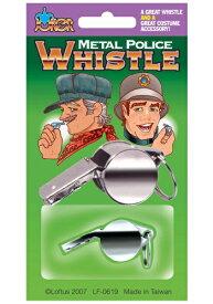 Metal ポリス 警察 Whistle ハロウィン コスプレ 衣装 仮装 小道具 おもしろい イベント パーティ ハロウィーン 学芸会