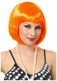 《全品P5倍 クーポン多数有》Orange Bob ウィッグ ハロウィン コスプレ 衣装 仮装 小道具 おもしろい イベント パーティ ハロウィーン 学芸会