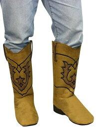 Western Brown Cow男の子 Boot Covers for 大人用s ハロウィン コスプレ 衣装 仮装 小道具 おもしろい イベント パーティ ハロウィーン 学芸会