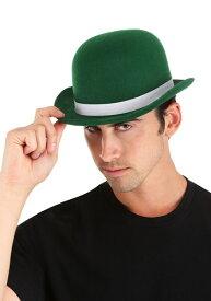 大人用 Green Derby 帽子 ハット ハロウィン コスプレ 衣装 仮装 小道具 おもしろい イベント パーティ ハロウィーン 学芸会