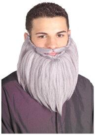 Grey Wizard Beard and Mustache ハロウィン コスプレ 衣装 仮装 小道具 おもしろい イベント パーティ ハロウィーン 学芸会