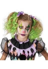 Curly Glow In The Dark Green Hair Clips ハロウィン コスプレ 衣装 仮装 小道具 おもしろい イベント パーティ ハロウィーン 学芸会