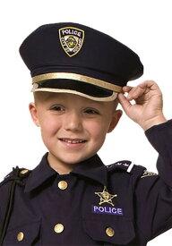 ポリス 警察 帽子 ハット for キッズ ハロウィン コスプレ 衣装 仮装 小道具 おもしろい イベント パーティ ハロウィーン 学芸会