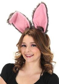 Bendy Bunny Ears Headband Grey ハロウィン コスプレ 衣装 仮装 小道具 おもしろい イベント パーティ ハロウィーン 学芸会