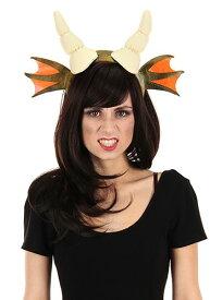 ドラゴン Horns Green Headband ハロウィン コスプレ 衣装 仮装 小道具 おもしろい イベント パーティ ハロウィーン 学芸会