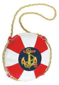 In The Navy Life Preserver Handbag for Ladies ハロウィン コスプレ 衣装 仮装 小道具 おもしろい イベント パーティ ハロウィーン 学芸会